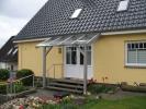 Vordach-Haustür